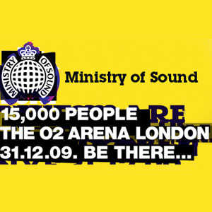 Ministry Of Sound @ o2 Arena NYE